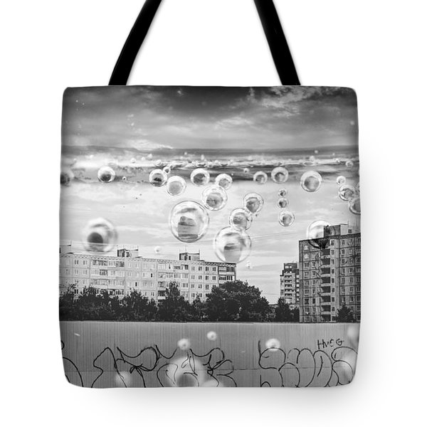 Bubbles And The City Tote Bag