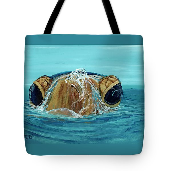 Tote Bag featuring the painting Bubbles by Darice Machel McGuire