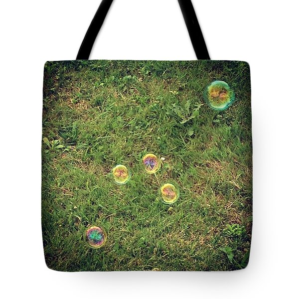 Bubbles!! Hard At Work Or Having Fun Tote Bag