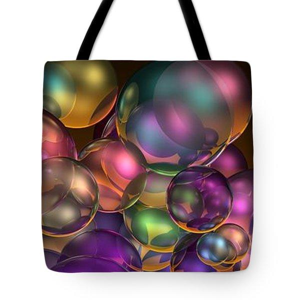 Bubbles Overall Tote Bag