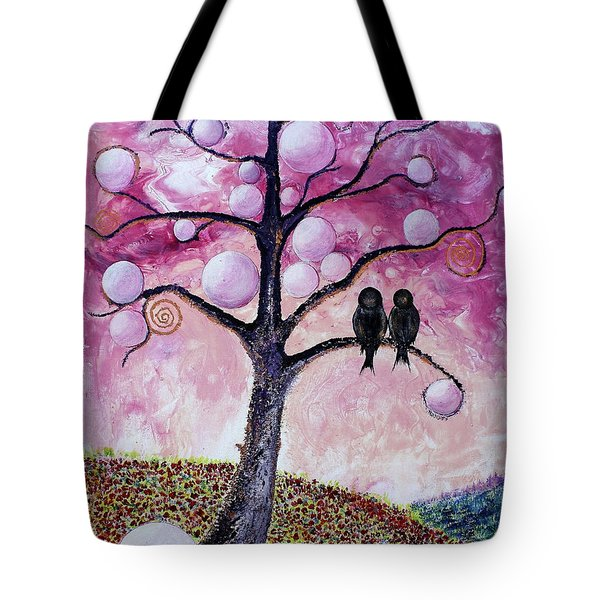 Bubbletree Tote Bag