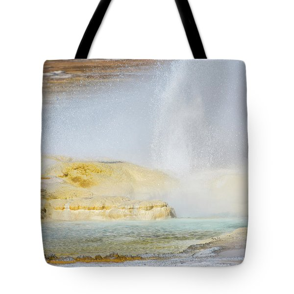 Tote Bag featuring the photograph Bubbling Earth by Colleen Coccia