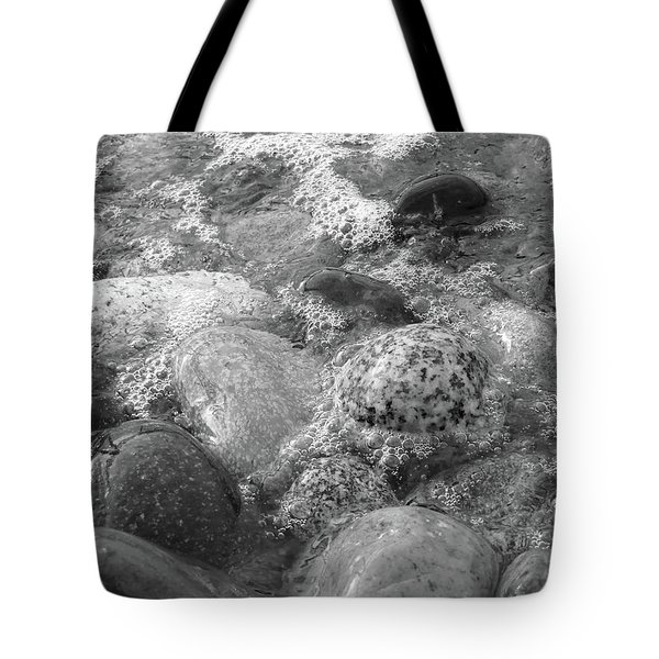 Bubbling Stones Tote Bag