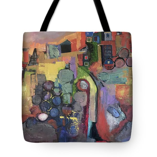 Bubbling Up Tote Bag