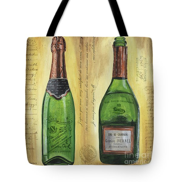 Bubbly Champagne 1 Tote Bag