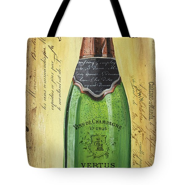 Bubbly Champagne 2 Tote Bag