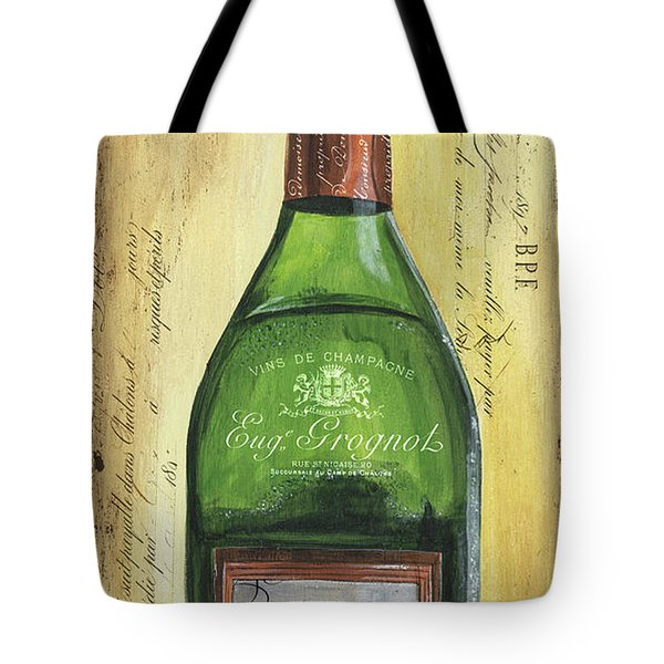 Bubbly Champagne 3 Tote Bag