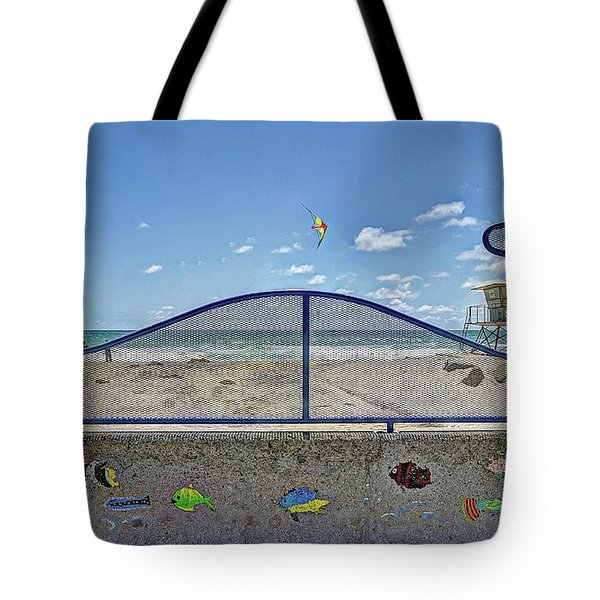Buccaneer Beach Tote Bag by Ann Patterson