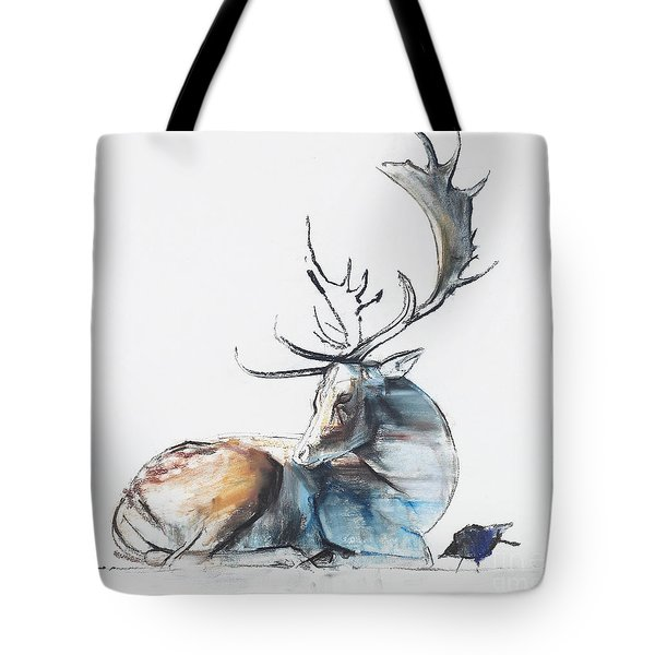 Buck And Bird Tote Bag