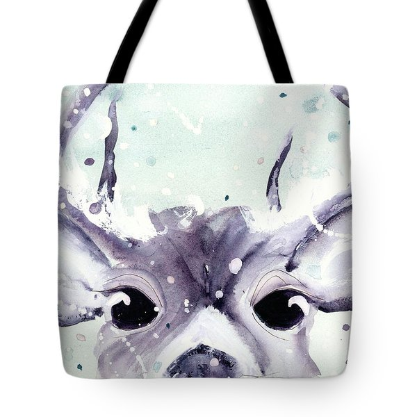 Tote Bag featuring the painting Buck by Dawn Derman