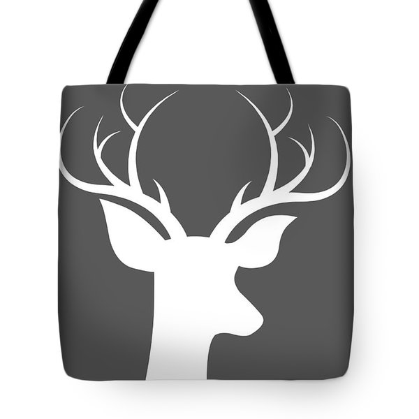 Buck Deer Tote Bag
