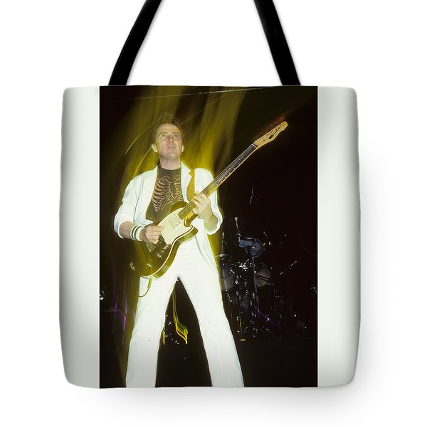Buck Dharma Of Blue Oyster Cult Tote Bag