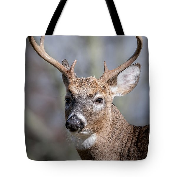 Buck Headshot Tote Bag