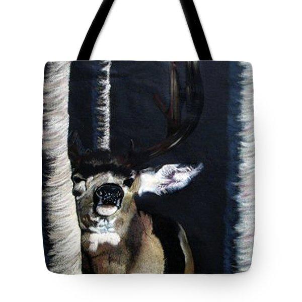Buck Tote Bag by Mayhem Mediums