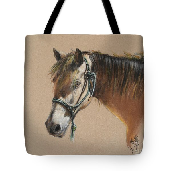 Buck Of The Morgan Horse Ranch Prns Tote Bag