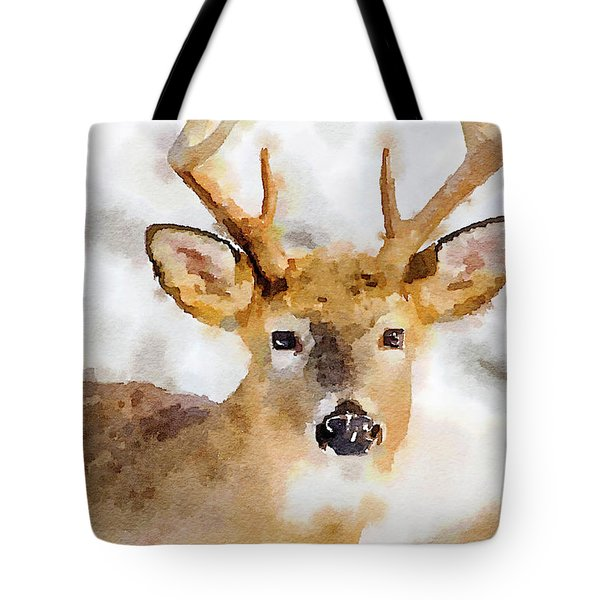 Buck Profile Tote Bag