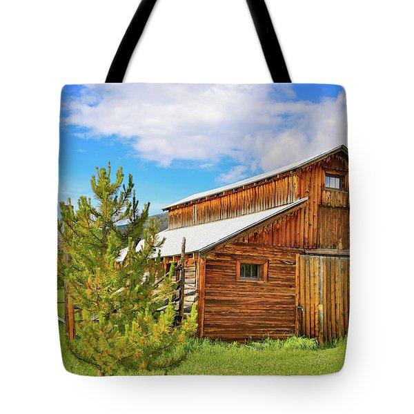 Buckaroo Barn 2 Tote Bag