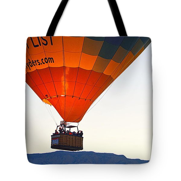 Tote Bag featuring the photograph Bucket List by AJ Schibig