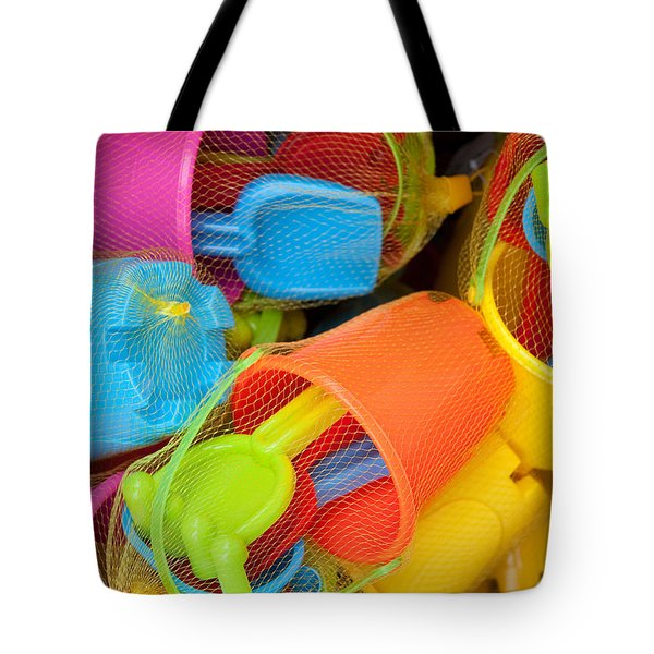 Buckets And Spades Tote Bag