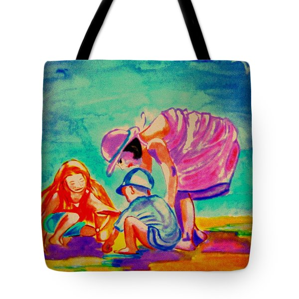 Buckets And Spades Tote Bag by Rusty Woodward Gladdish