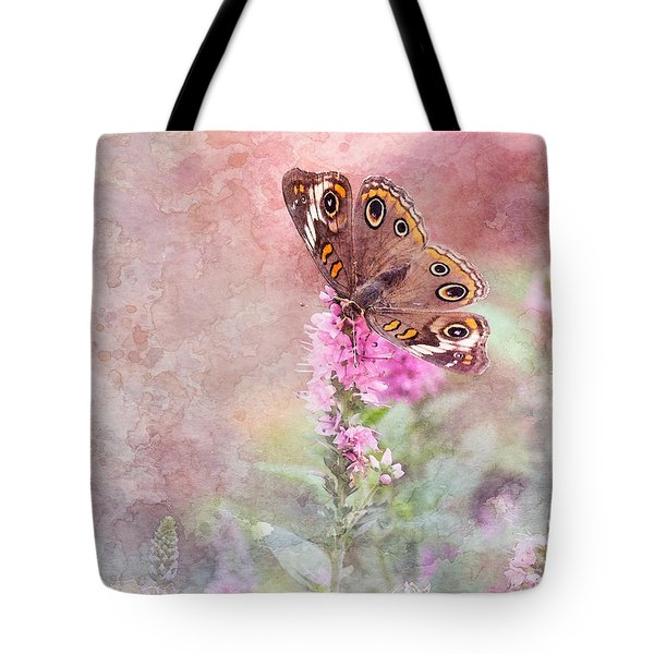Tote Bag featuring the photograph Buckeye Bliss by Betty LaRue