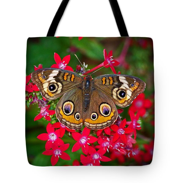 Buckeye On Pentas Tote Bag