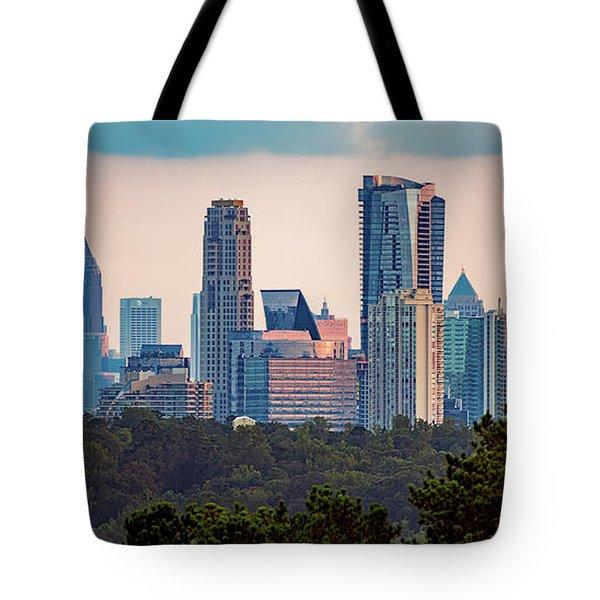 Buckhead Atlanta Skyline Tote Bag