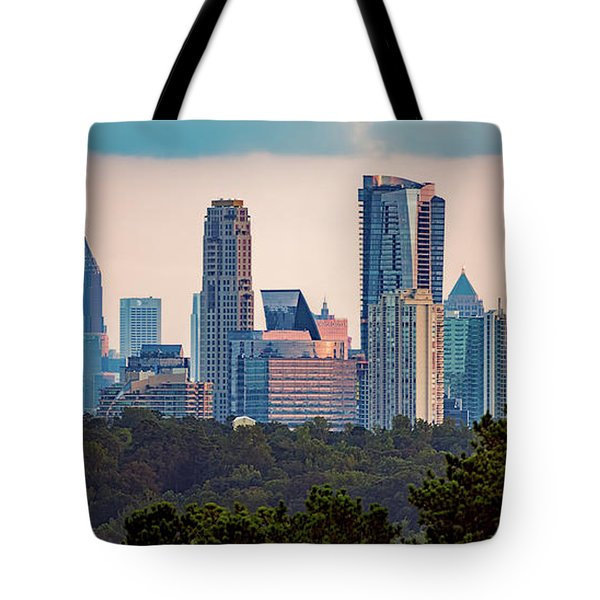Buckhead Atlanta Skyline Tote Bag
