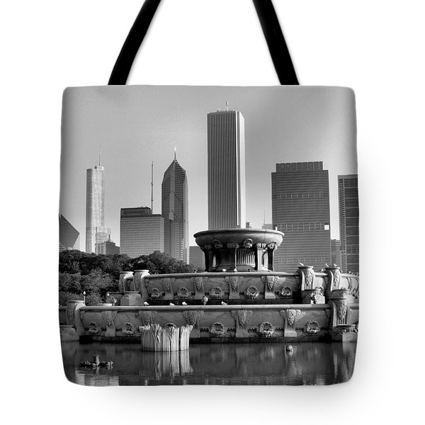 Buckingham Fountain - 2 Tote Bag