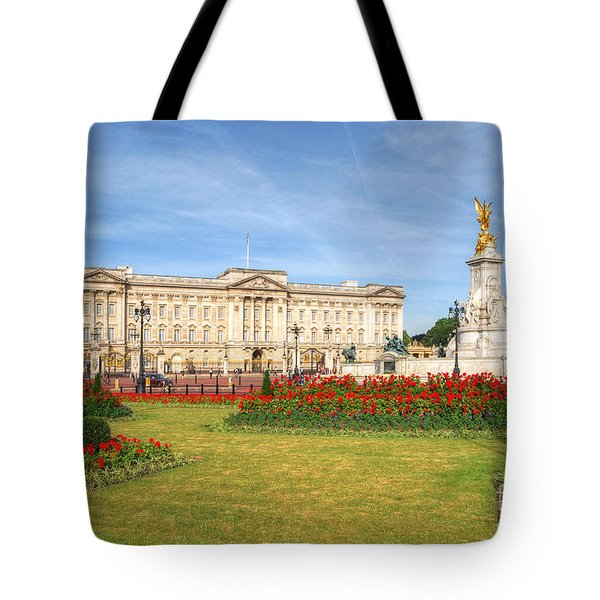 Buckingham Palace And Garden Tote Bag