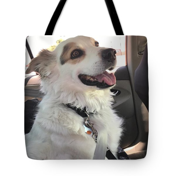 Buckle Up Tote Bag