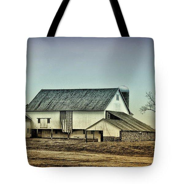 Bucks County Farm Tote Bag by Bill Cannon