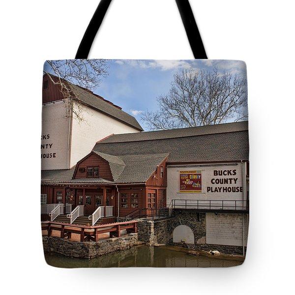 Bucks County Playhouse I Tote Bag