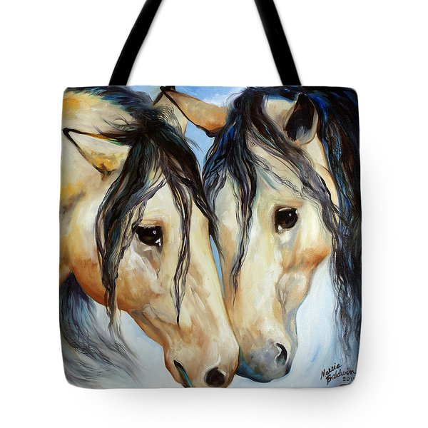 Buckskin Friends Tote Bag