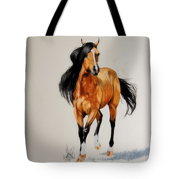 Buckskin Thoroughbred Tote Bag