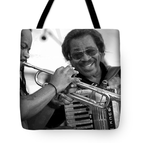 Buckwheat Zydeco Tote Bag