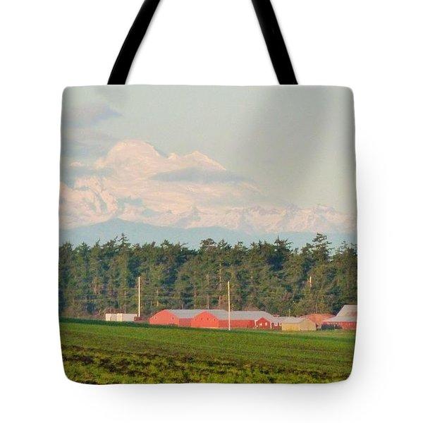 Bucolic Beauty By Ebey's Landing II Tote Bag by Ann Michelle Swadener