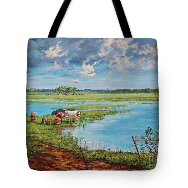 Bucolic St. John's Tote Bag by AnnaJo Vahle