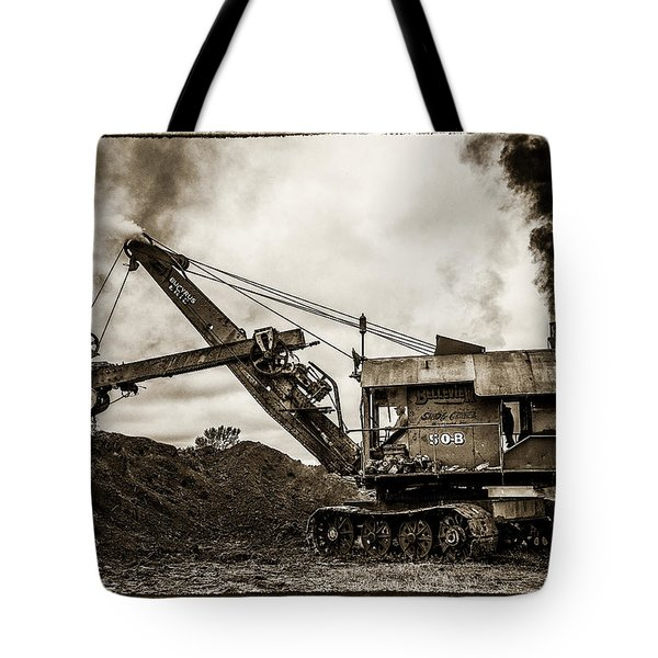 Bucyrus Erie Shovel Tote Bag