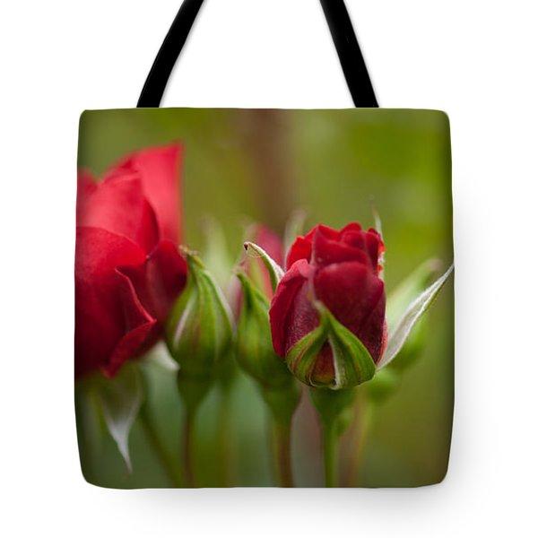 Bud Bloom Blossom Tote Bag