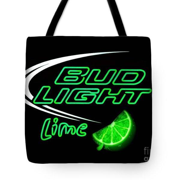 Bud Light Lime Edited Tote Bag