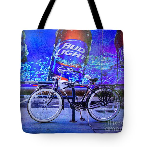 Bud Light Schwinn Bicycle Tote Bag