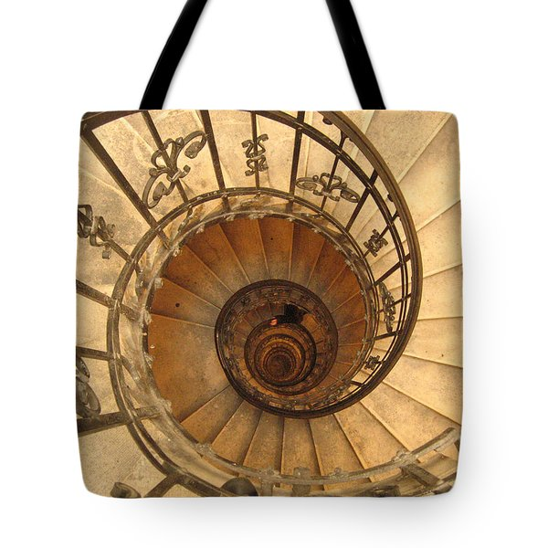 Budapest Staircase Tote Bag