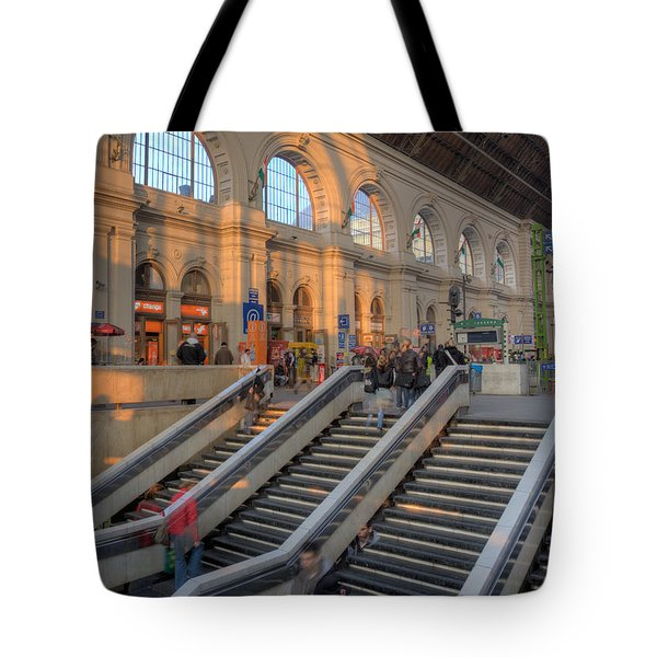 Budapest Train Station 2 Tote Bag