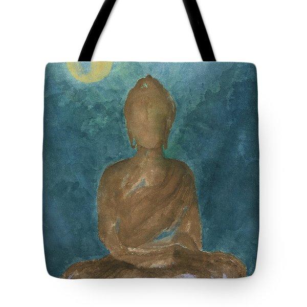Buddha Abstract Tote Bag