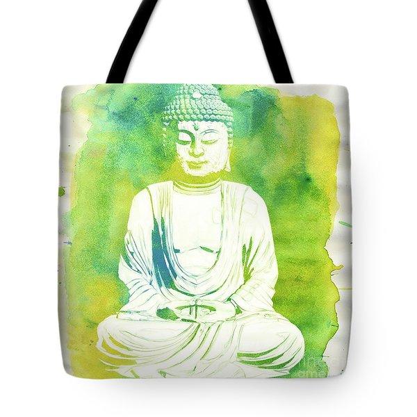 Buddha By Raphael Terra Tote Bag