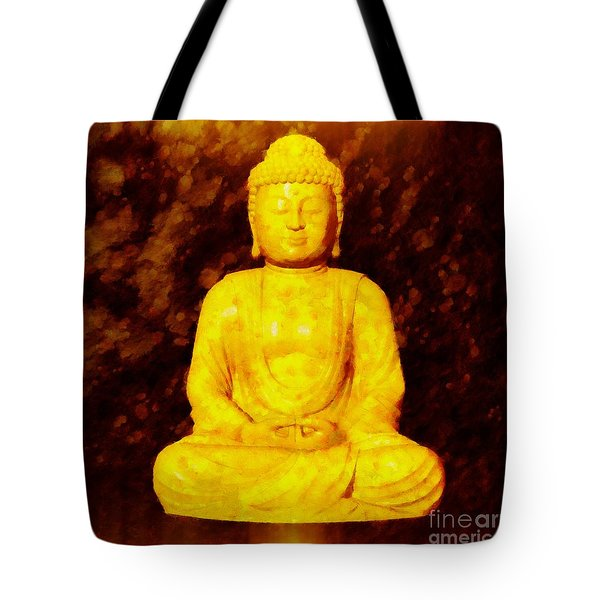 Buddha By Sarah Kirk Tote Bag
