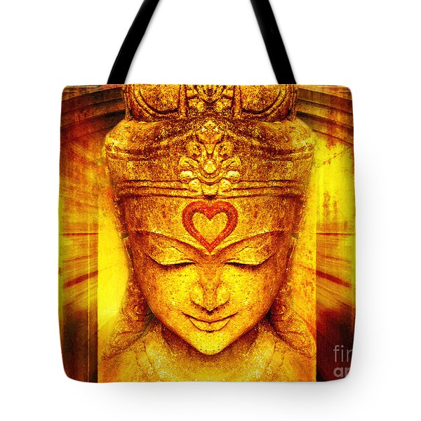 Buddha Entrance Tote Bag