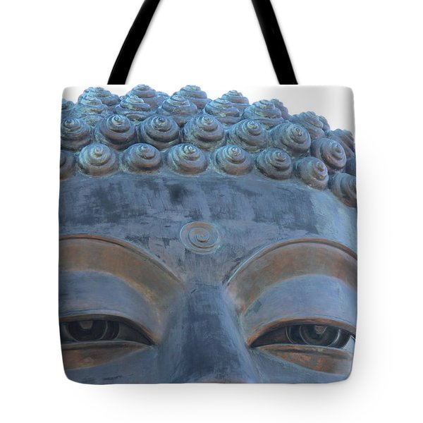Buddha Eyes, Ngong Ping Village, Hong Kong Tote Bag