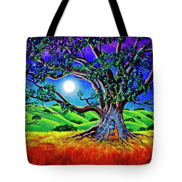 Buddha Healing The Earth Tote Bag